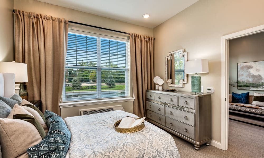 Spacious floor plans at Anthology of Meridian Hills in Indianapolis, Indiana.