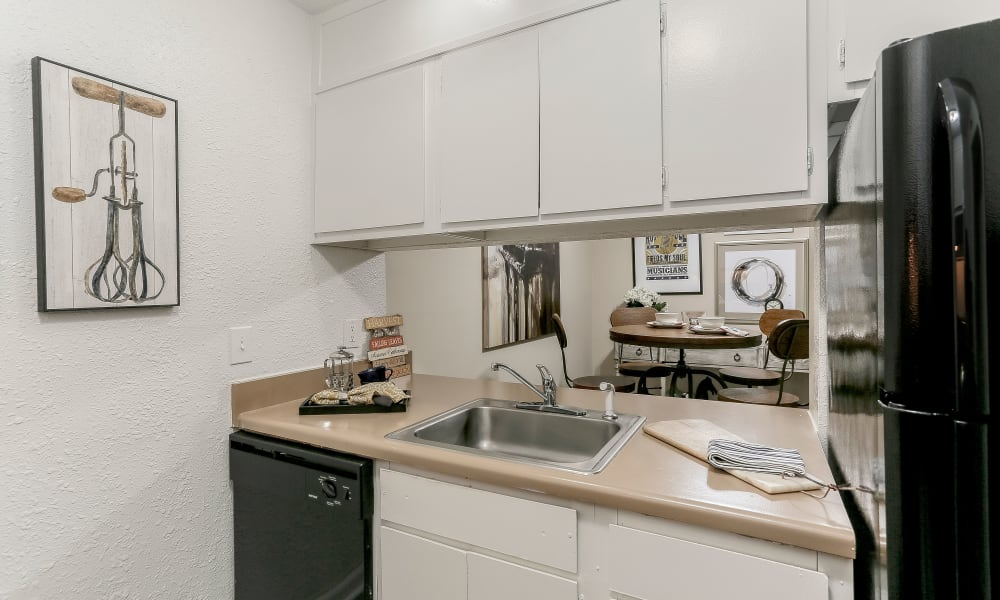 Kitchen at Apartments in Nashville, Tennessee
