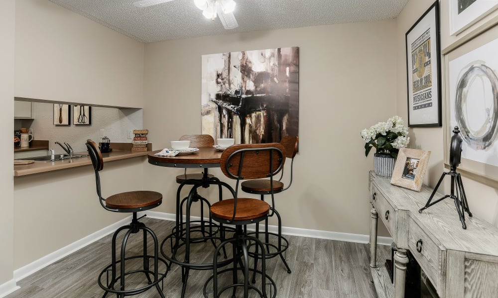 Dining Room at Apartments in Nashville, Tennessee