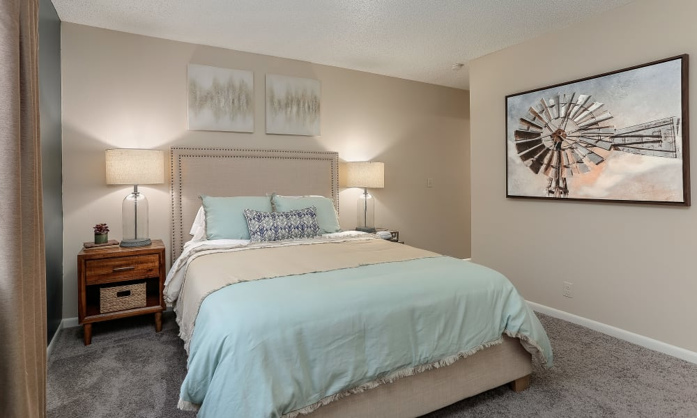 Bedroom at The Residences at Stonebrook in Nashville, TN