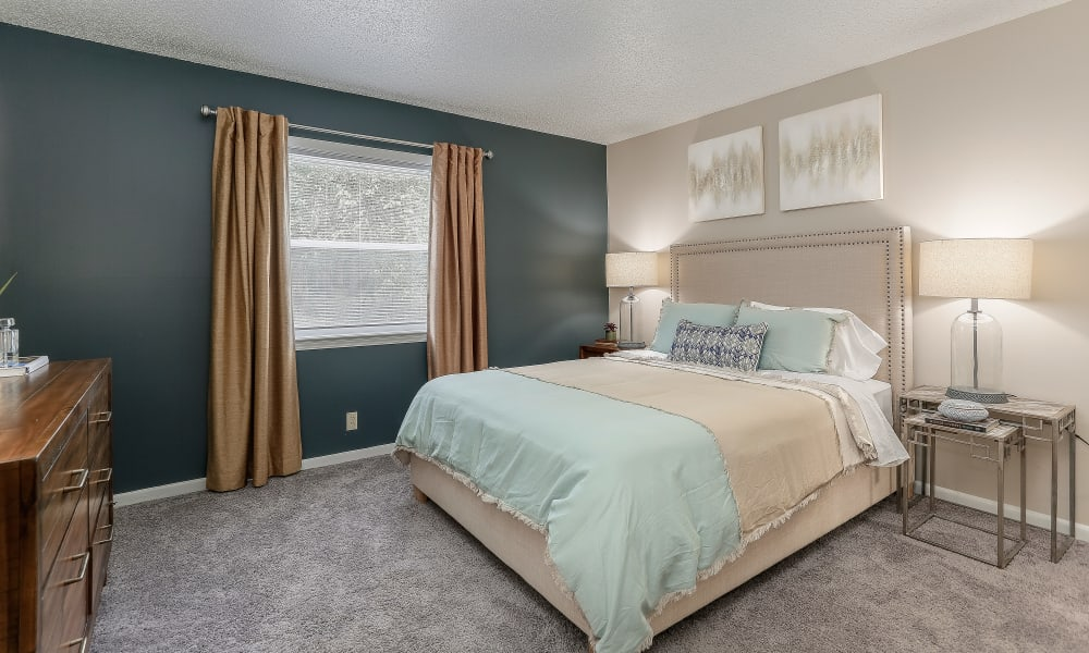 Bedroom at The Residences at Stonebrook in Nashville, Tennessee