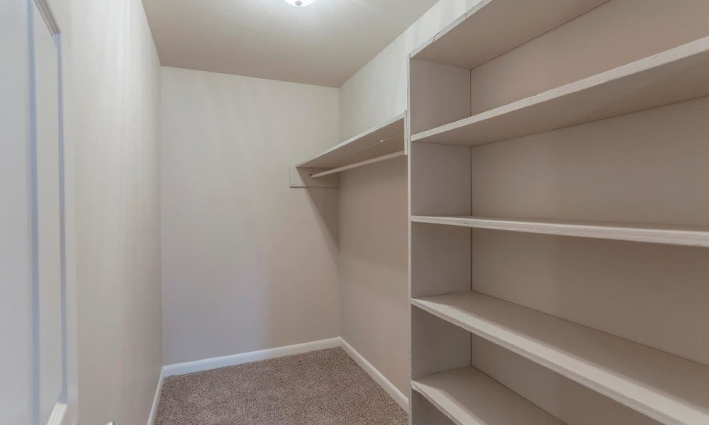 Walk-in Closets at Apartments in Nashville, Tennessee