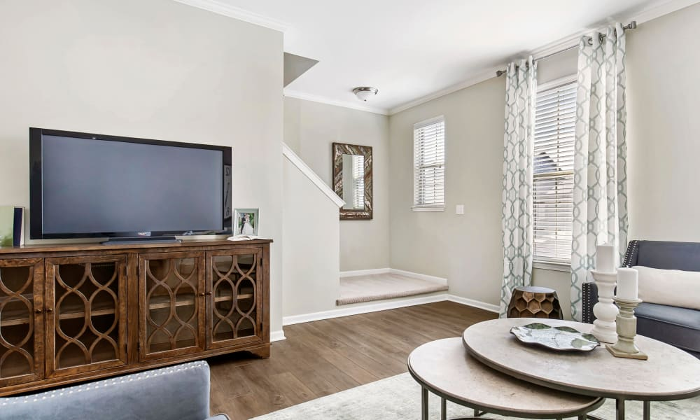 Enjoy Apartments with a Living Room at Park West