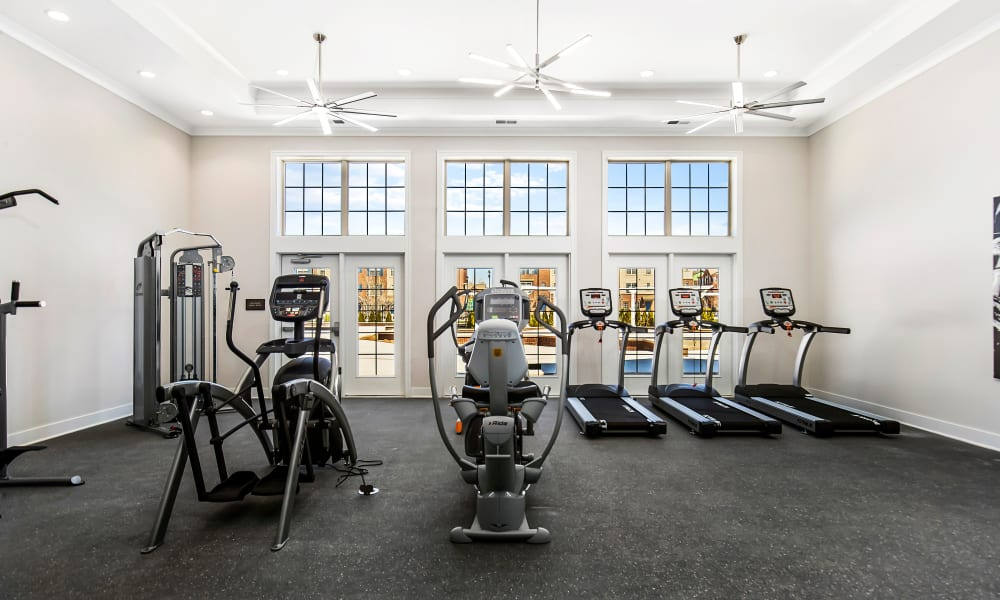 Fitness Center at Park West in Canton, Michigan