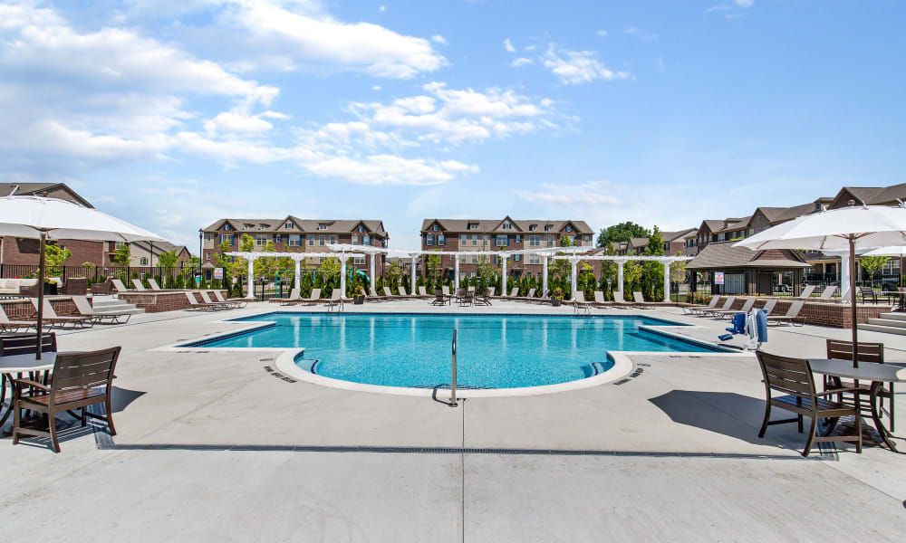Swimming Pool at Park West in Canton, Michigan