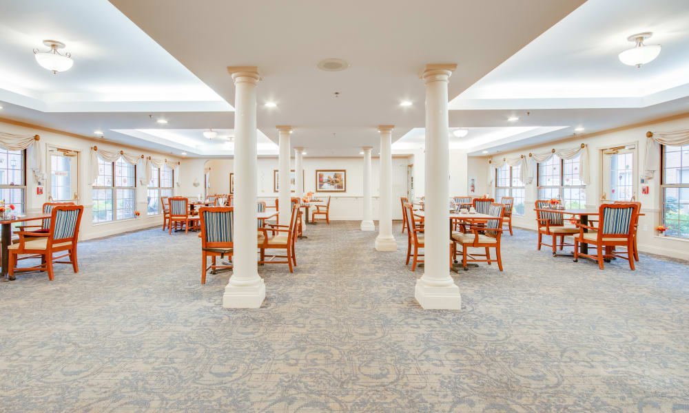 Symmetrical picture of the main area at Brentwood at LaPorte in La Porte, Indiana