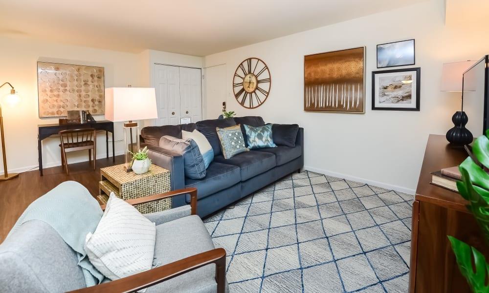 Living room at Levittown, Pennsylvania