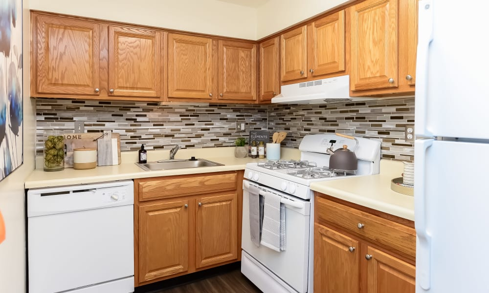 Kitchen at Levittown, Pennsylvania
