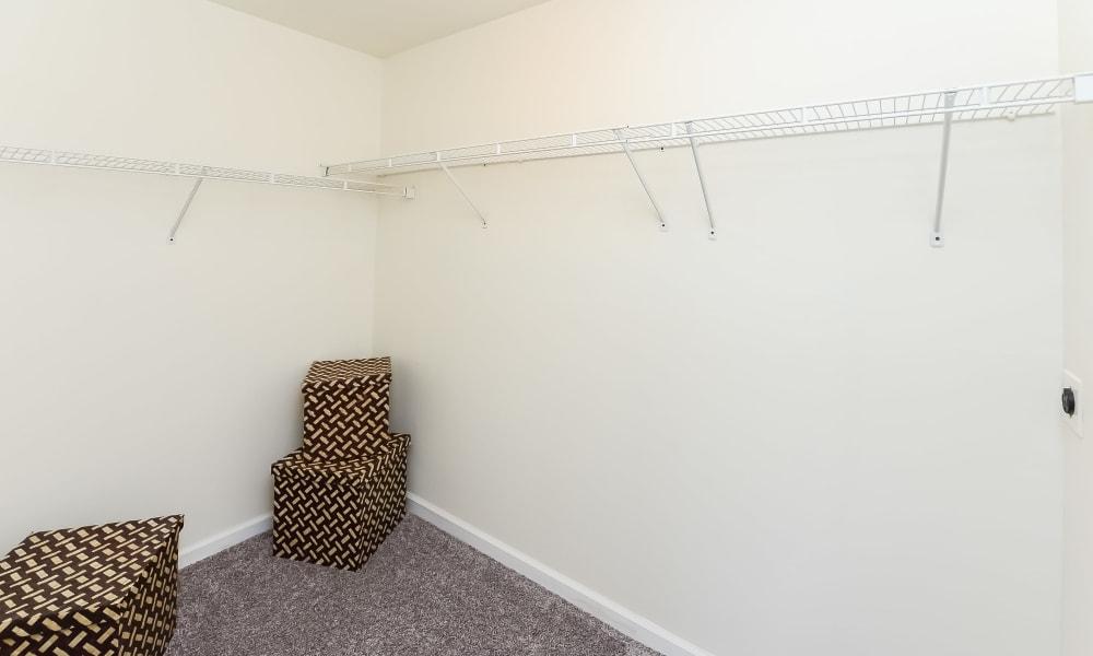 Large closet at Levittown, Pennsylvania