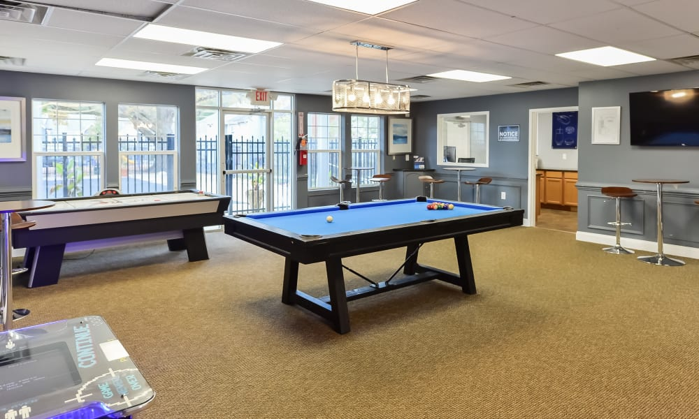 Entertainment room at Fox Run Apartments & Townhomes in Bear, DE