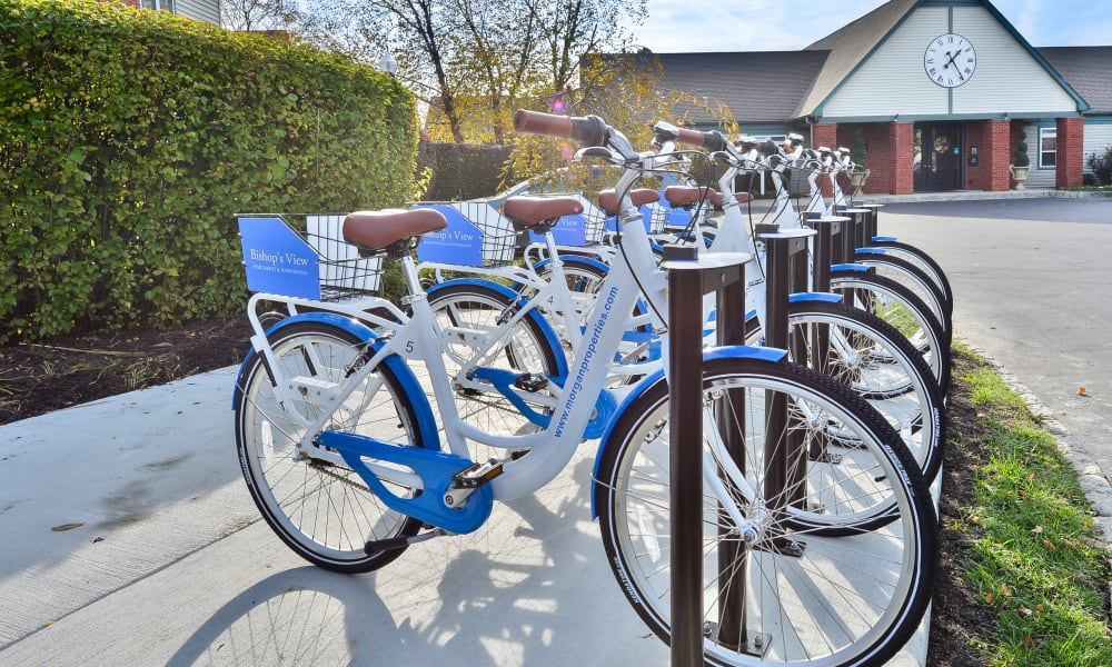 Our Apartments in Cherry Hill, New Jersey offer a Bike Share