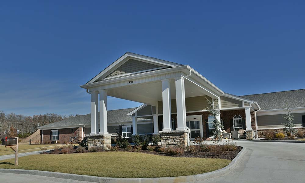 Assisted Living Community Building NorthRidge Place in Lebanon, Missouri