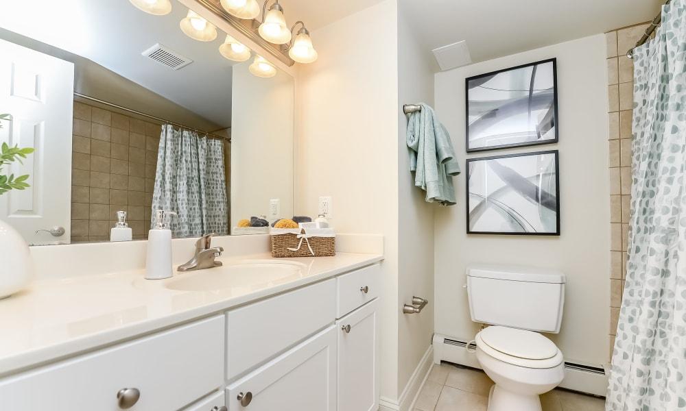 Bathroom at Stonegate at Devon Apartments in Devon, PA