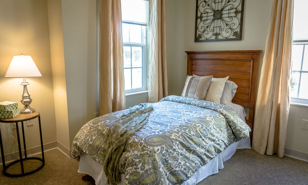 A beautifully decorated bedroom at Gentry Park Orlando in Orlando, Florida