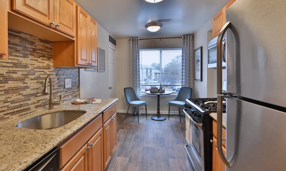 Kitchen at Chesapeake Glen Apartment Homes in Glen Burnie, MD