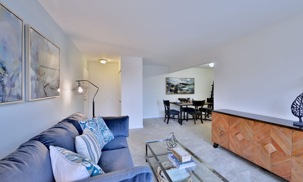 Enjoy a Spacious Living Room at our Apartments in Glen Burnie, MD