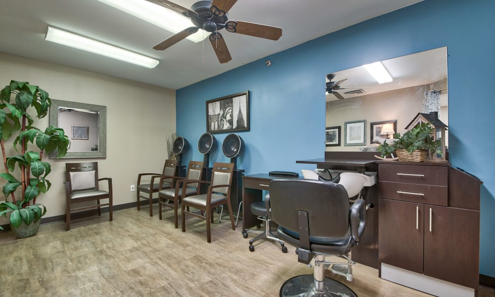 Hair salon at The Country House in Westchester in Yorktown Heights, New York