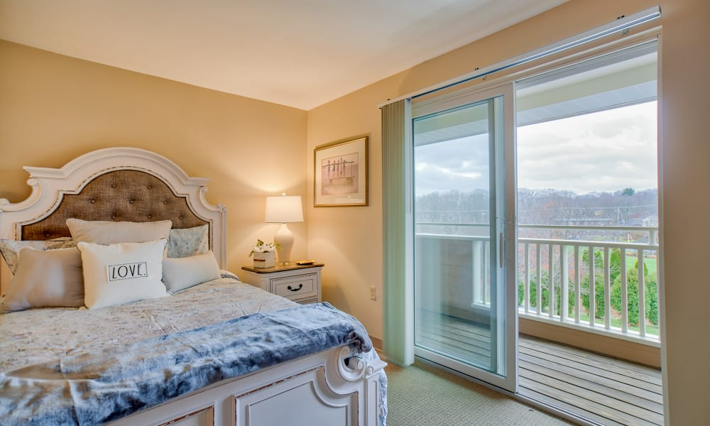 Enjoy beautiful views from the rooms at Chapel Hill in Cumberland, Rhode Island