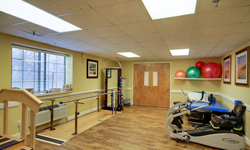 In house physical therapy at Smithfield Woods in Smithfield, Rhode Island