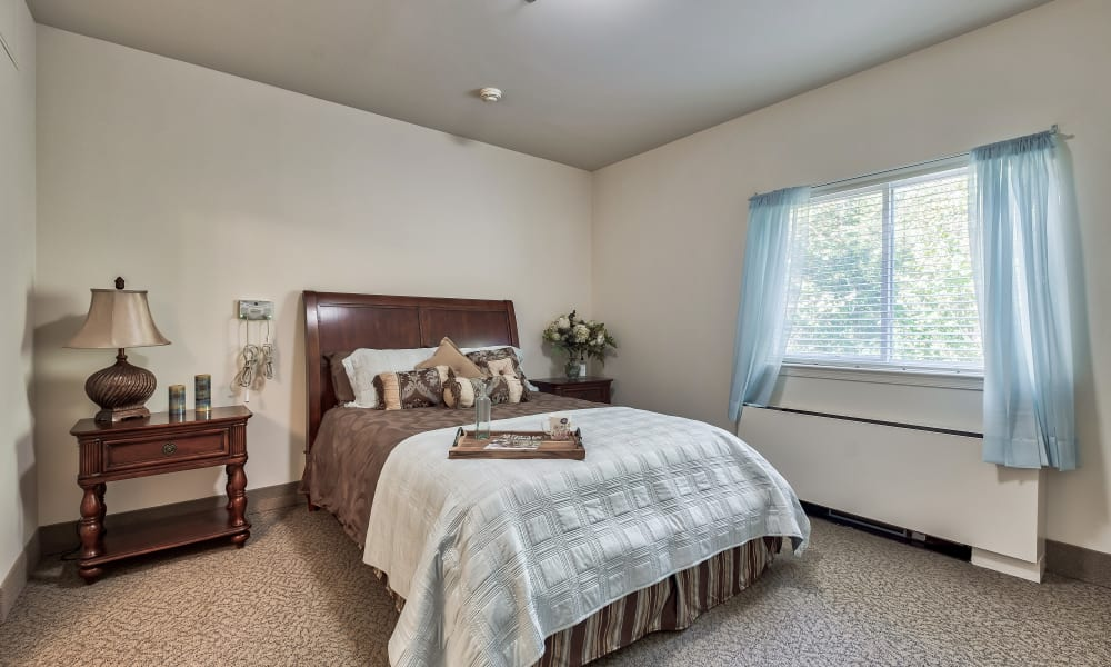 A spacious bedroom at Hillhaven in Adelphi, Maryland