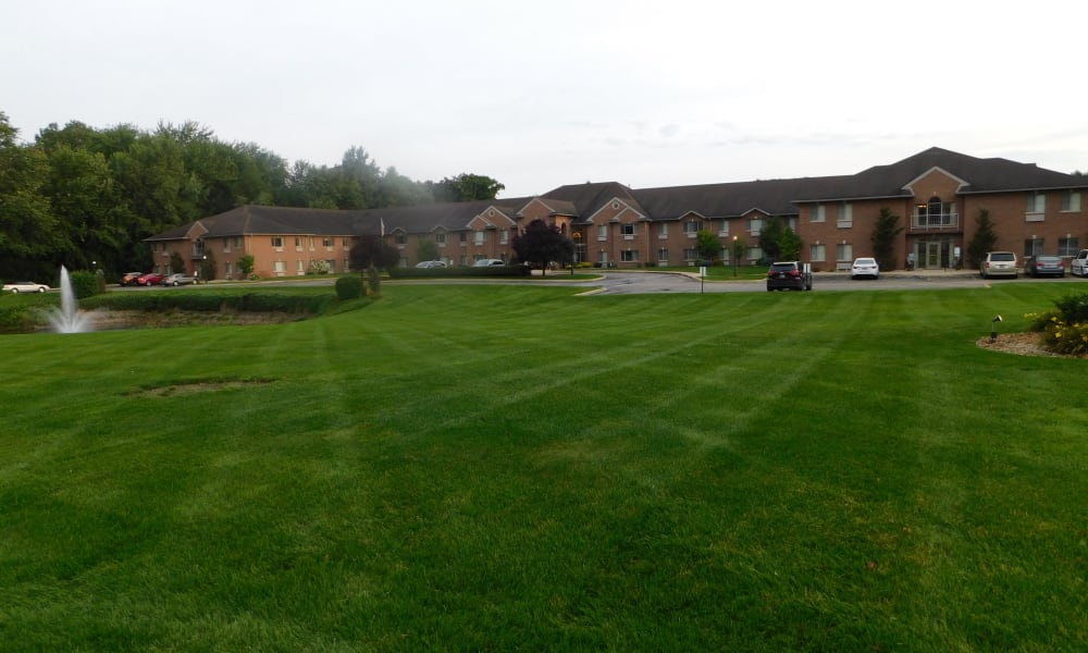 Greenery at Brentwood at Elkhart in Elkhart, Indiana