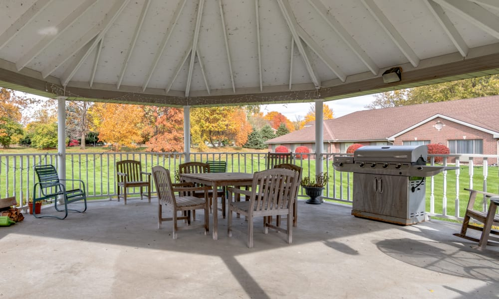 Gazebo at Eastlake Terrace in Elkhart, Indiana