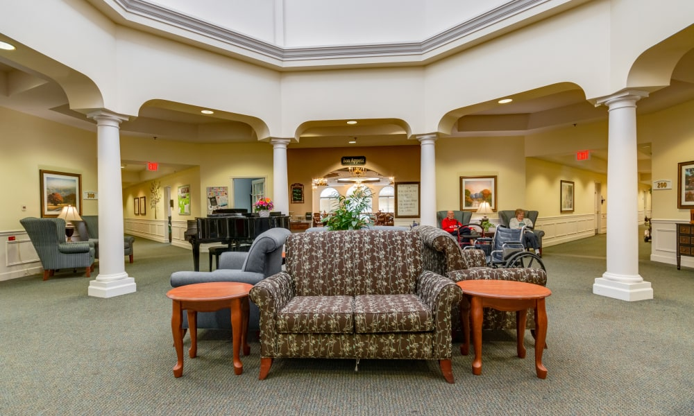 Common area at Eastlake Terrace in Elkhart, Indiana