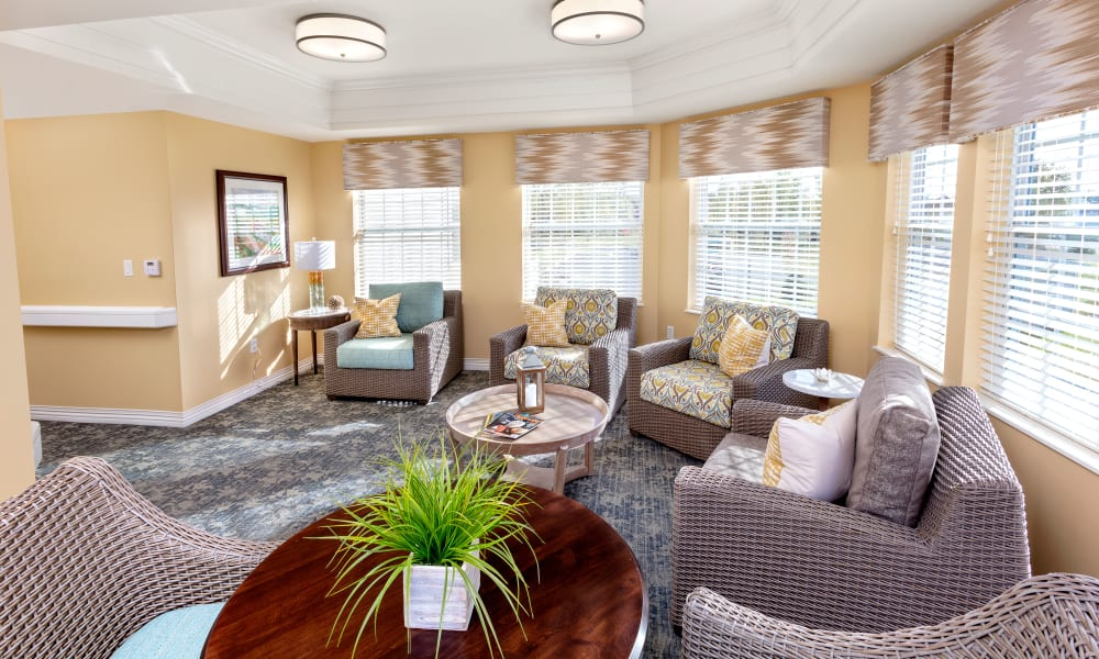 Common area at Brooklyn Pointe in Brooklyn, Ohio