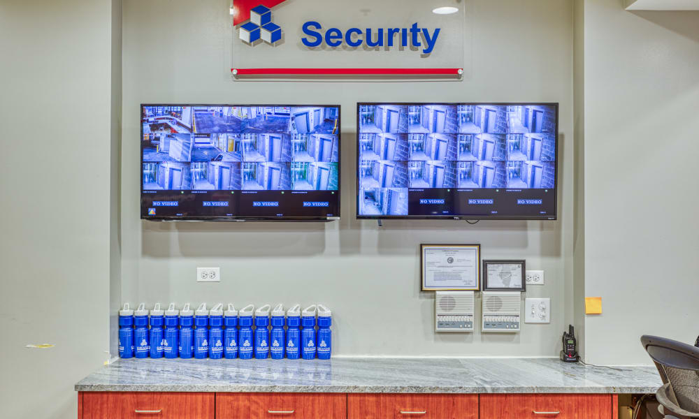 Security monitoring at Devon Self Storage in Chicago, Illinois