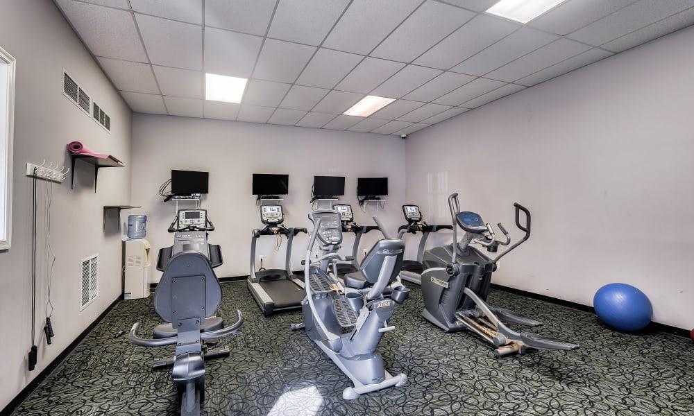 Fitness Center at Abbotts Run Apartments in Alexandria, Virginia