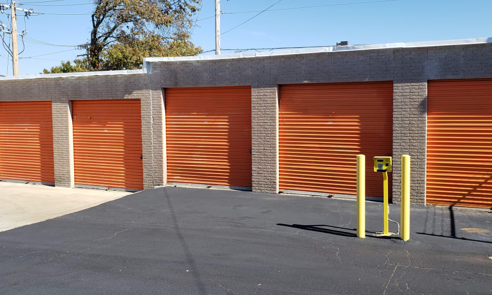 Storage units at A Shur-Lock Self Storage in Maryland Heights, Missouri