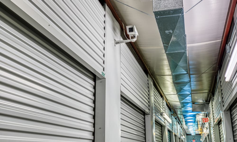Video monitoring at Devon Self Storage in Greenville, Texas