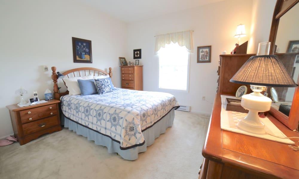 Bedroom at Traditions of Hanover in Bethlehem, Pennsylvania