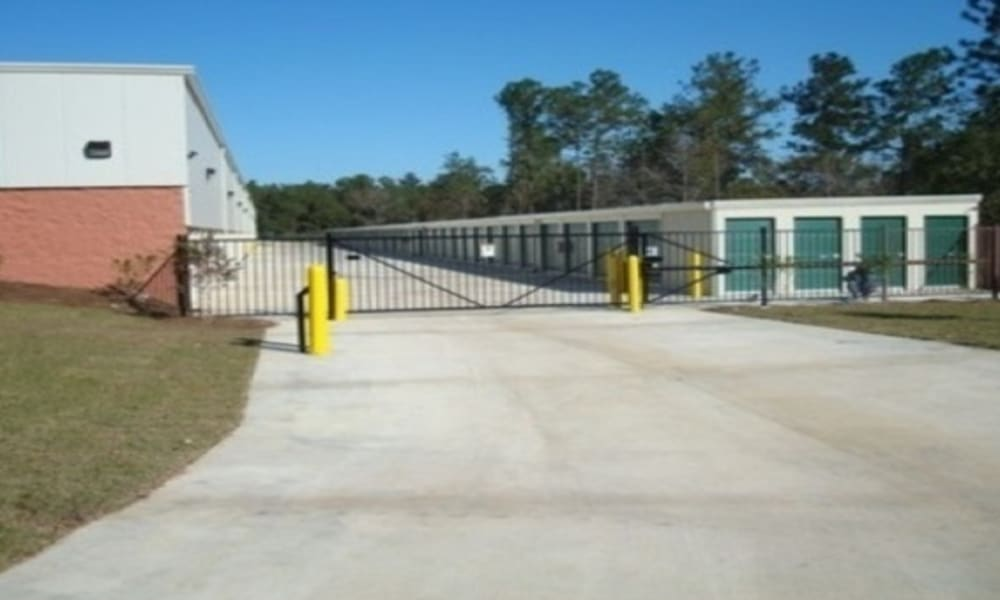 Secure gated access to A Storage of Daphne in Daphne, Alabama