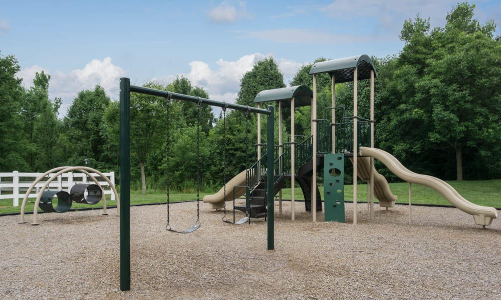 The playground at Paddock Club Apartments in Florence, Kentucky