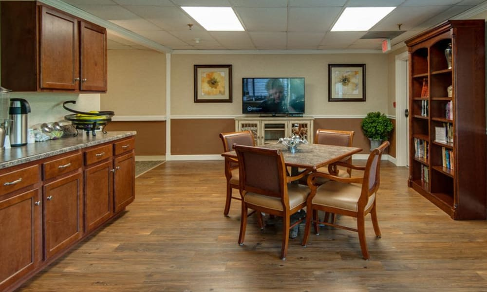 Coffee and Snacks Anytime at Spencer Place in Saint Peters, Missouri