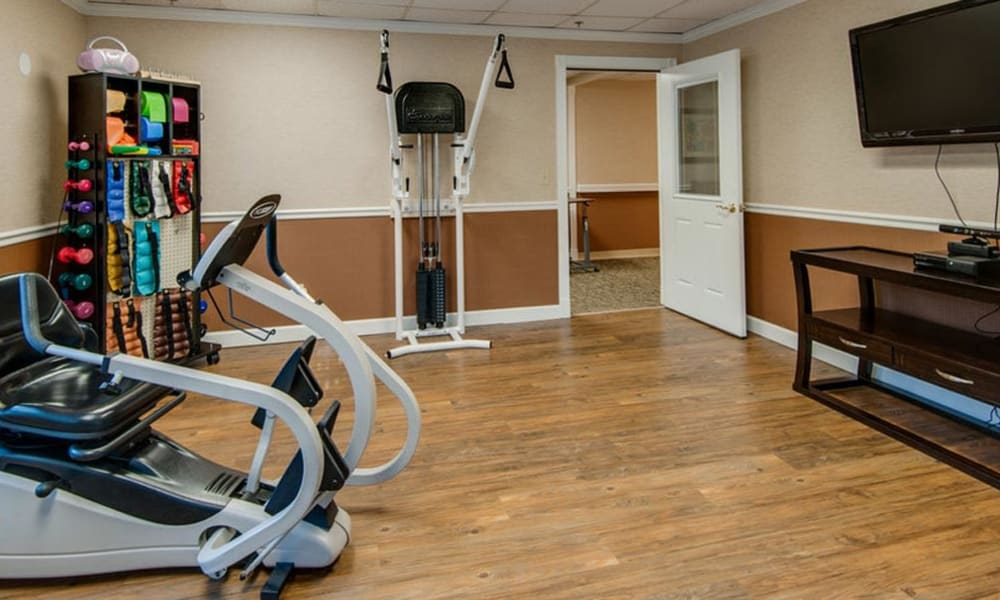 Fitness and Wellness at Spencer Place in Saint Peters, Missouri