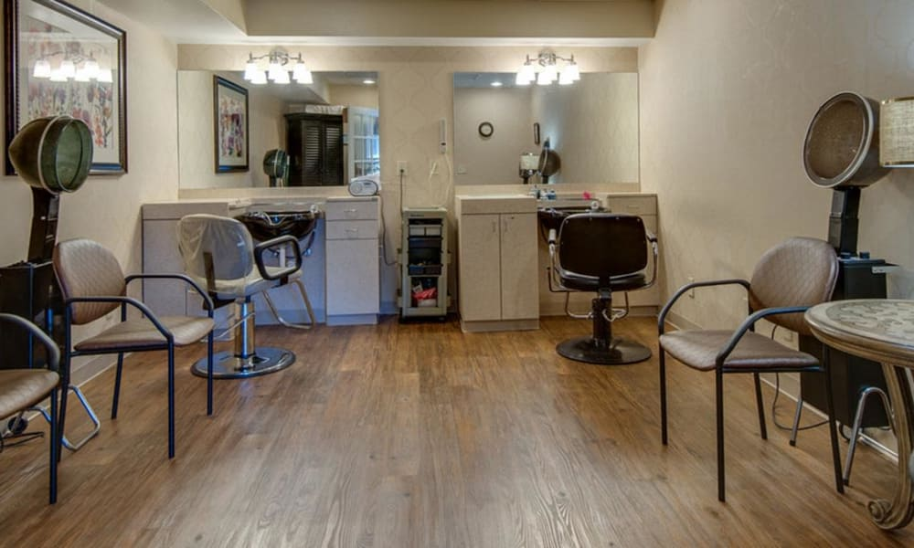 Beauty and Barber Shop at Spencer Place in Saint Peters, Missouri