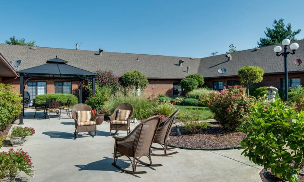 Secure and Safe Outdoor Living Spaces at Spencer Place in Saint Peters, Missouri