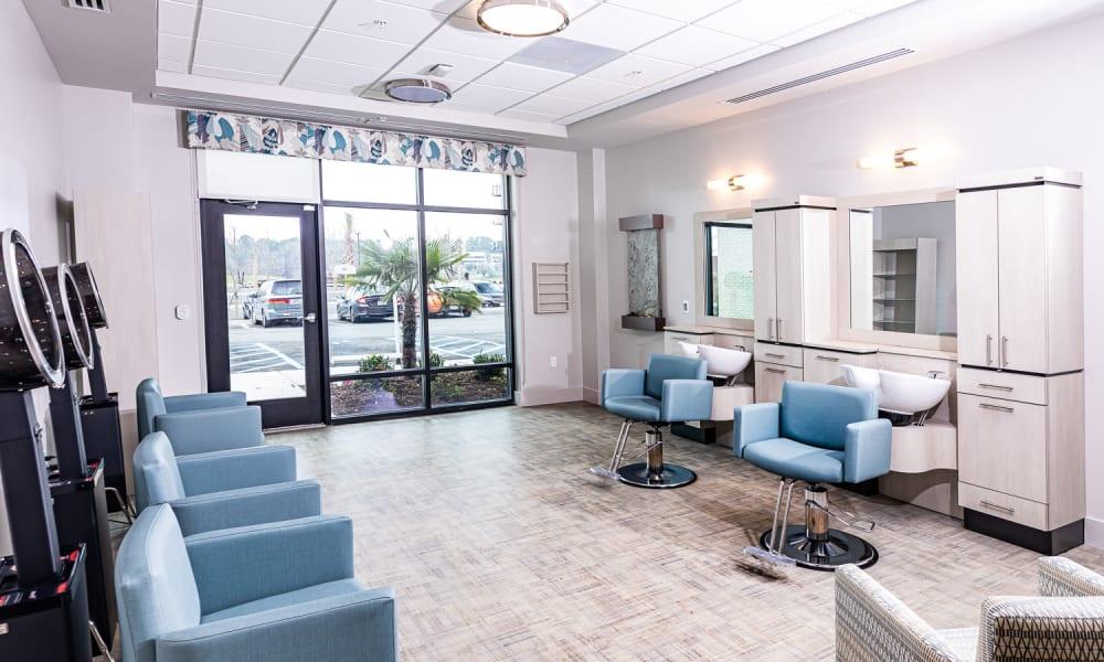 Onsite salon at Merrill Gardens at Columbia in Columbia, South Carolina.