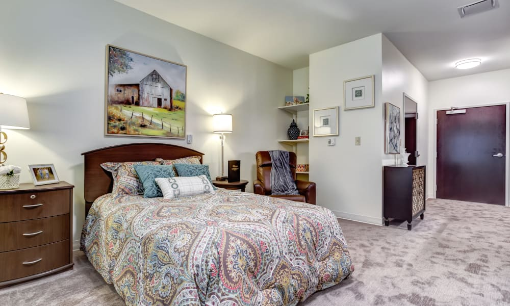 A furnished studio apartment at Trilogy Health Services - Bowling Green in Bowling Green, Ohio