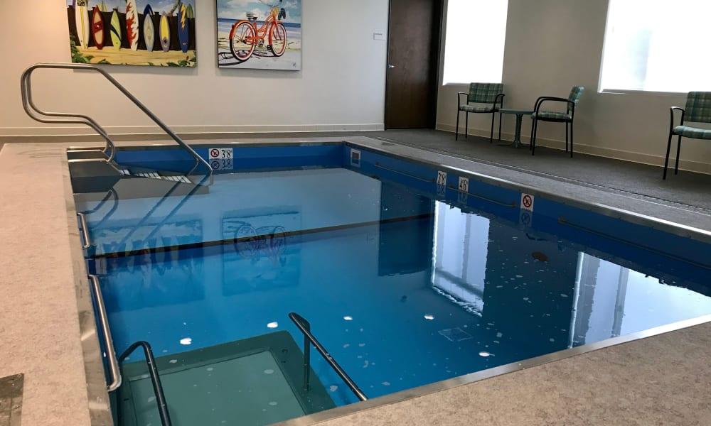 Swimming pool at Quail Park at Shannon Ranch in Visalia, California