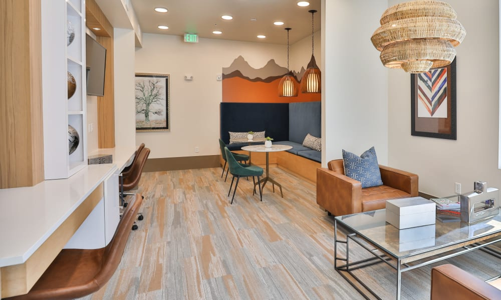 The Alcott offers a Luxury Clubhouse for Residents in Downtown Denver, Colorado