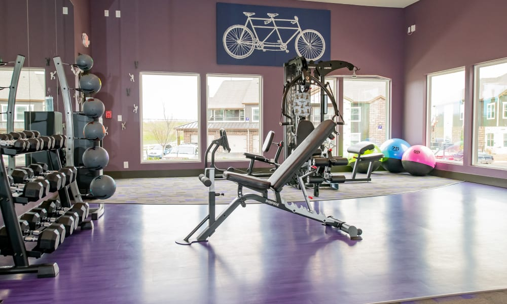 Fitness Center at Cedar Ridge in Tulsa, Oklahoma