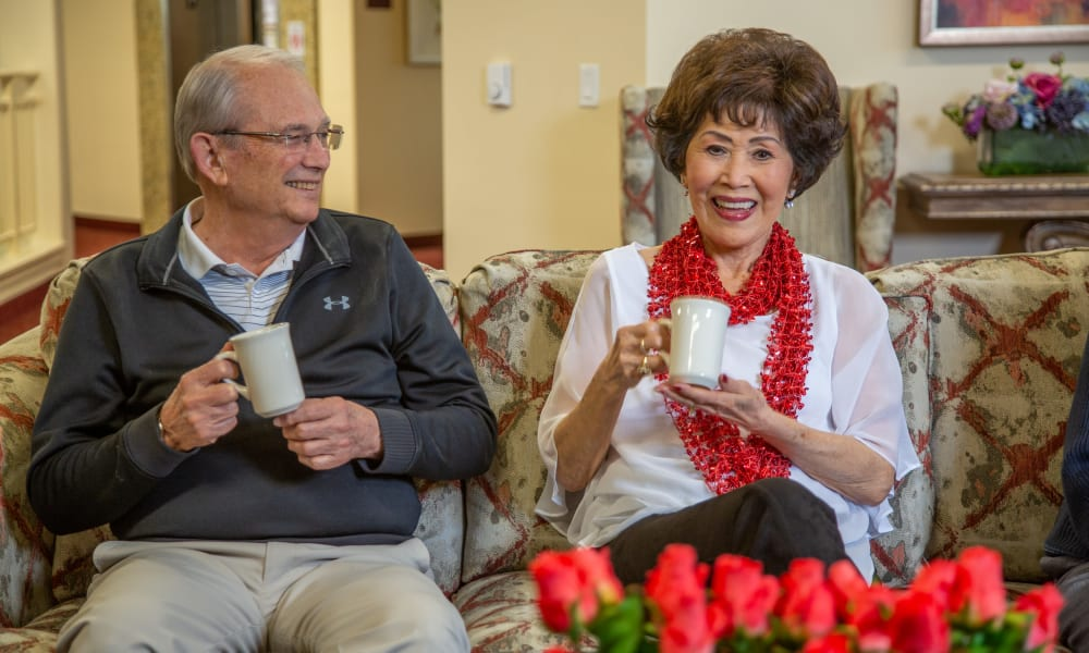 Residents of The Savoy Gracious Retirement Living in Winter Springs, Florida
