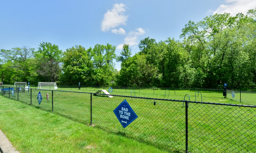 Enjoy Apartments with a Dog Park at Chesterfield Apartment Homes in Levittown, Pennsylvania