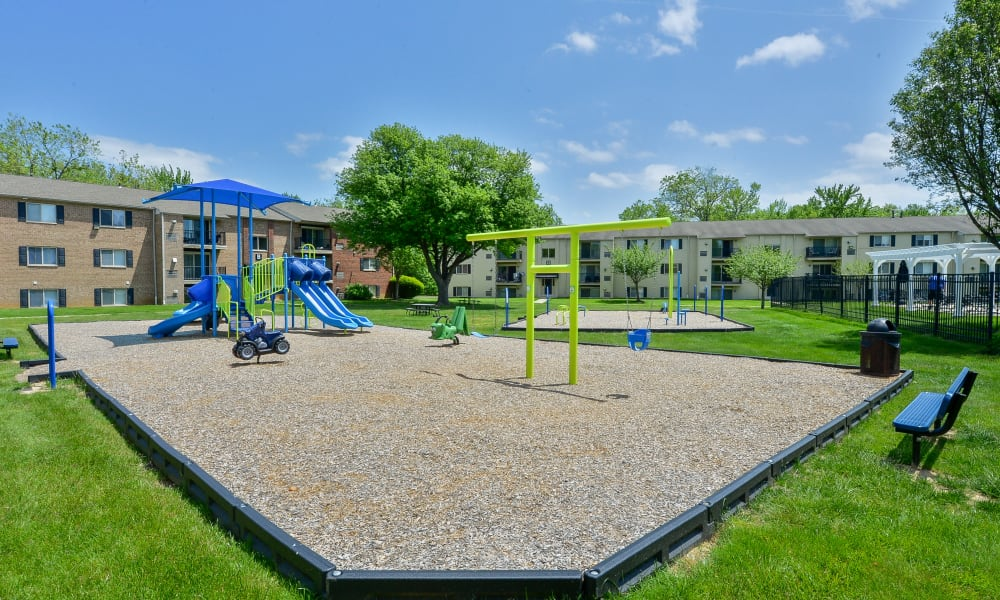 Enjoy Apartments with a Playground at Chesterfield Apartment Homes in Levittown, Pennsylvania