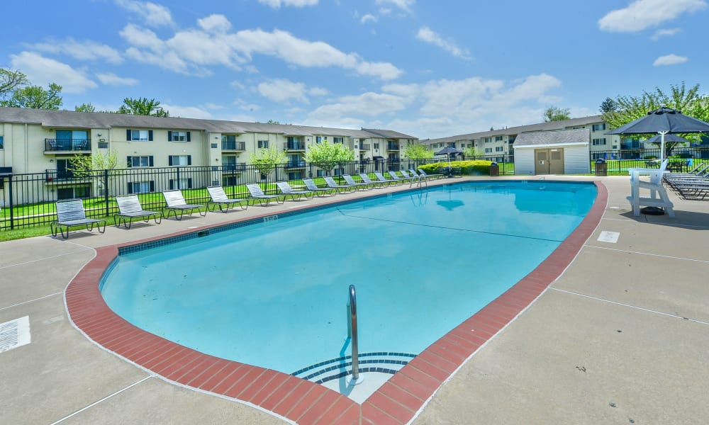 Swimming Pool at Chesterfield Apartment Homes in Levittown, Pennsylvania