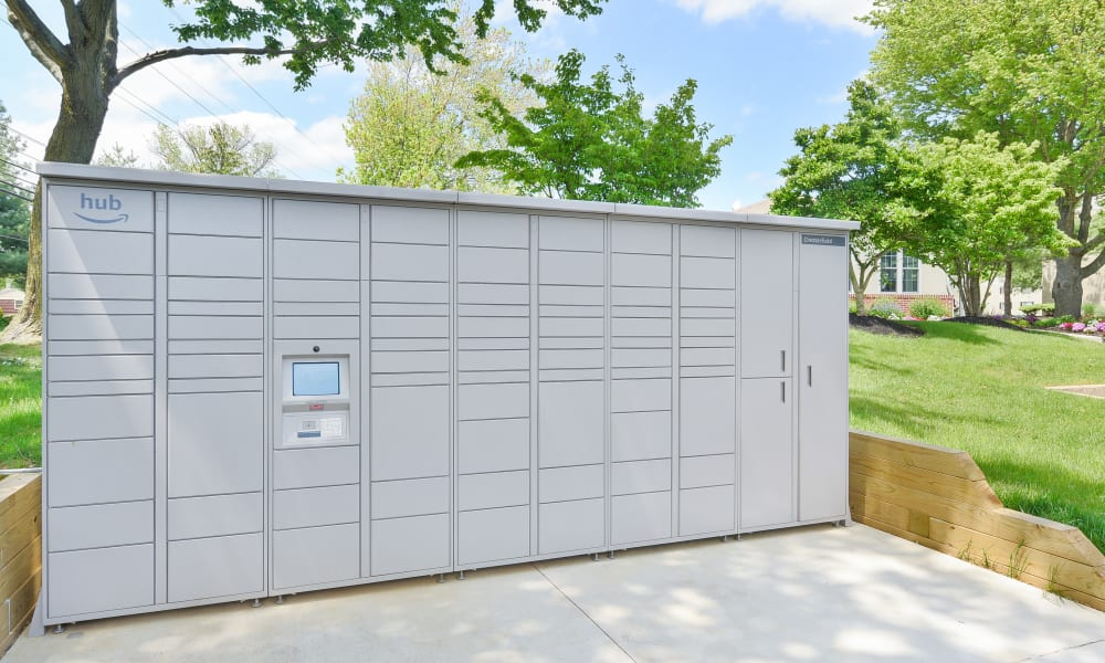 Package Lockers at Chesterfield Apartment Homes in Levittown, Pennsylvania