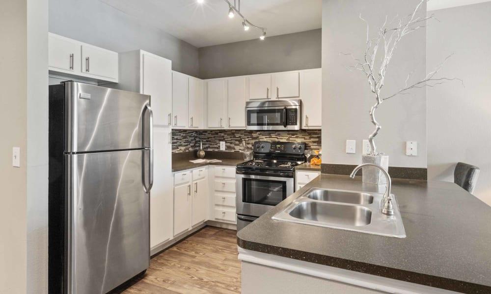 Kitchen of Archer Stone Canyon
